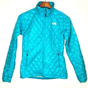 The North Face Thermoball teal jacket/ S